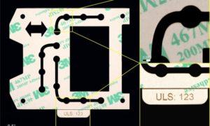 【動画あり】3M接着剤転写テープ467MPのレーザー彫刻とレーザー切断